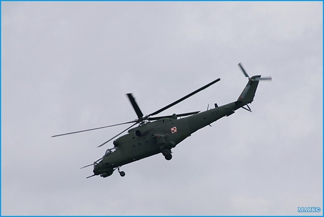 Pictures were taken in minsk mazowiecki during the air show to